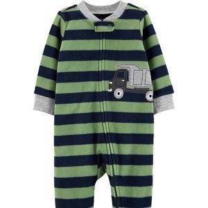 Carter's Truck Zip-Up Fleece Sleep & Play Size 3m